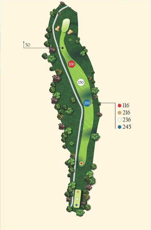 Hole 3 layout