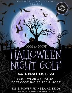 Night Golf Halloween Event